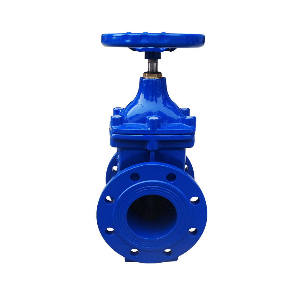Din3352 F4 Non Rising Stem Resilient Soft Seat Gate Valves